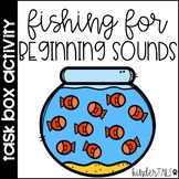 Beginning Sounds Clip Cards {Task Box}