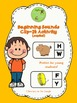 Beginning Sounds Clip-It Activity (bundle)