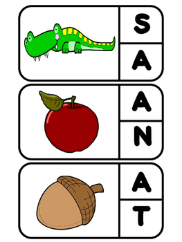 Beginning Sounds Clip-It Activity (capital) - FREEBIE!