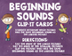 Beginning Sounds Clip It Cards