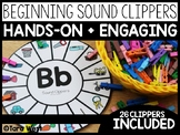 Beginning Sounds Clippers
