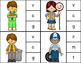 Beginning Sounds Clothes Pin Clip Cards: Community Helpers