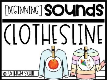 Beginning Sounds Clothesline
