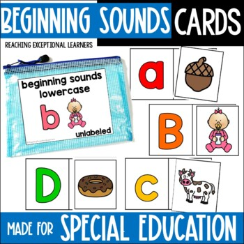 Beginning Sounds Task Card Set