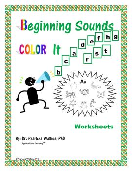 Phonological Awareness Beginning Sounds NO PREP Activities