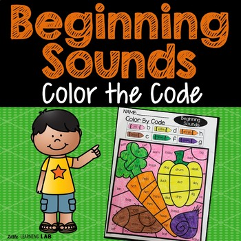 Beginning Sounds | Phonics | Color By Code