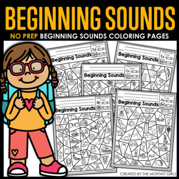 Beginning Sounds (Color by the Code)