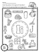 Beginning Sounds Color it Letter of the Week