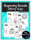 Beginning Sounds Coloring Pages