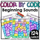 Beginning Sounds Coloring Worksheets and Printables   Alph