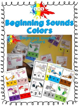 Beginning Sounds-Colors