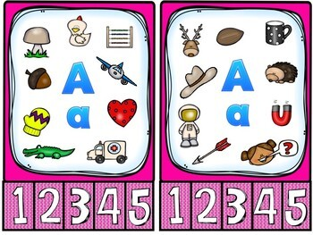 Letter Sounds Counting Dice Game