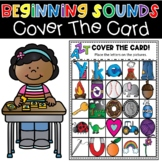 Beginning Sounds Cover The Card Alphabet Activity Literacy
