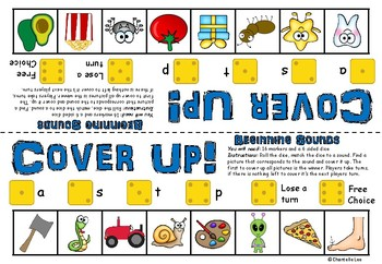 Beginning Sounds - Cover Up!