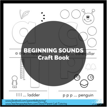 Beginning Sounds Craft Book