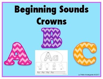 Alphabet and Beginning Sounds Crowns
