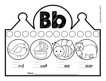 Beginning Sounds Crowns- English