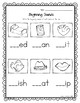 Beginning Sounds - Cut, Paste, or Write