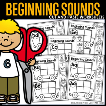 Beginning Sounds (Cut and Paste)