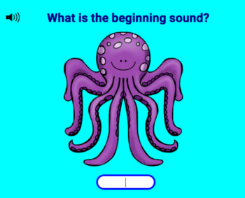 Beginning Sounds DIGITAL Task Cards!