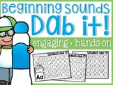 Beginning Sounds Dab it!