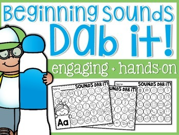 Beginning Sounds Dab it!
