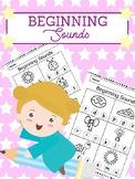 Beginning Sounds - Dab it! Color it!