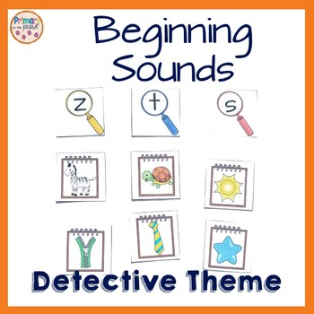 Beginning Sounds Detective Style