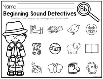 Beginning Sounds Detectives