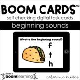 Beginning Sounds Digital BOOM! Cards Pre- K/ K Distance Learning