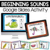Beginning Sounds Digital Center for Google Slides™
