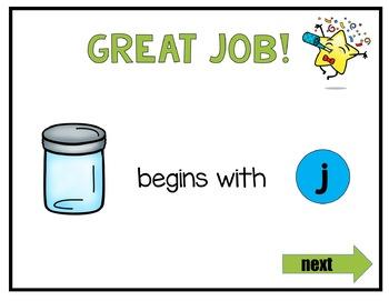 Beginning Sounds Digital Interactive Fun (Digital Classroom)