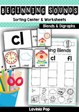 Beginning Blends and Digraphs Mats and Worksheets