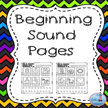 Beginning Sounds  ( Do I begin with the letter ?)
