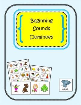 Beginning Sounds Dominoes