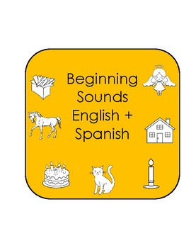 Beginning Sounds English and Spanish