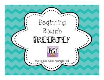 Beginning Sounds FREEBIE!