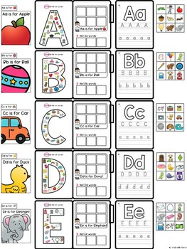 Beginning Sounds File Folders