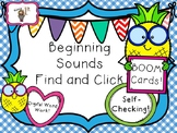 Pineapple Beginning Sounds Find & Click Boom Cards!