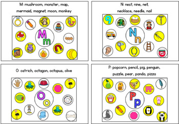 Beginning Sounds: Find and Cover