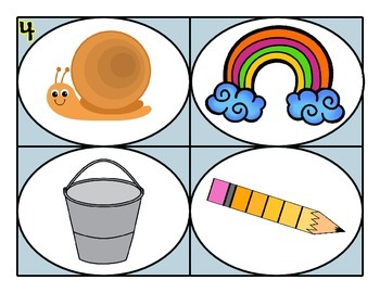 Beginning Sounds ~ First Sound Fluency (f, d, r, o, and g)
