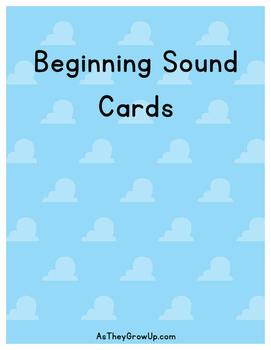 Beginning Sounds Flash Cards