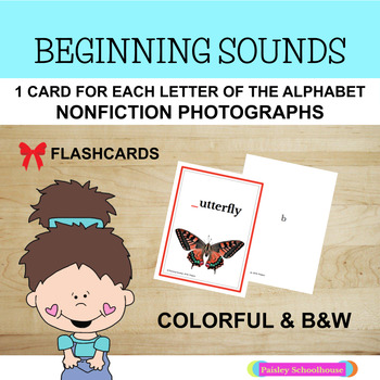 Missing Letter Flashcards With Nonfiction Photographs