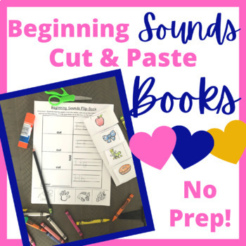 Beginning Sounds Flip Book
