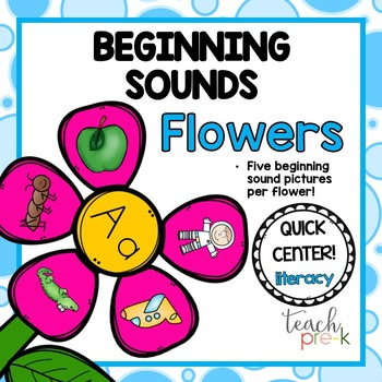 Beginning Sounds Flowers!