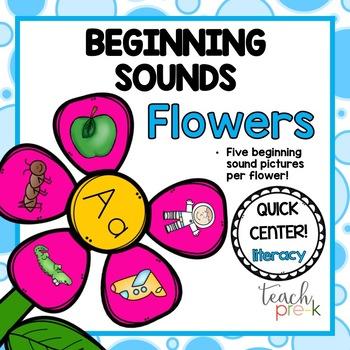Beginning Sounds Flowers!