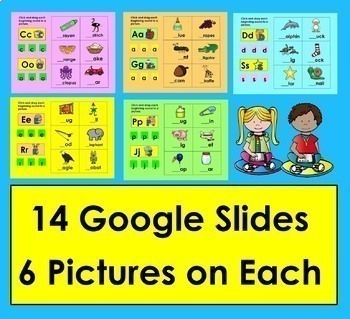 Beginning Sounds For Google Slides Kindergarten First Grade Distance Learning