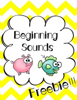 Beginning Sounds Freebie