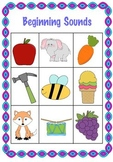 Beginning Sounds Game Boards