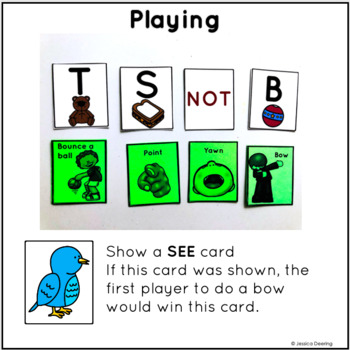 Beginning Sounds Game- See, Match, Move